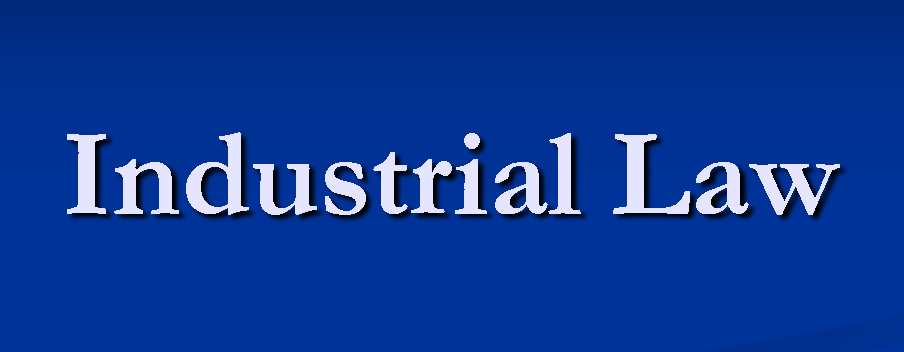 PG Diploma in Industrial Law