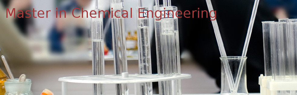 Master in Chemical Engineering (MCE)