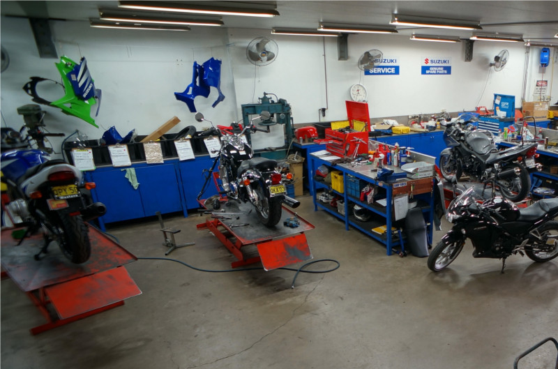 Certification Motorcycle Service & Repair (CMSR)