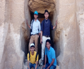 NDIM Students on Internship in Egypt