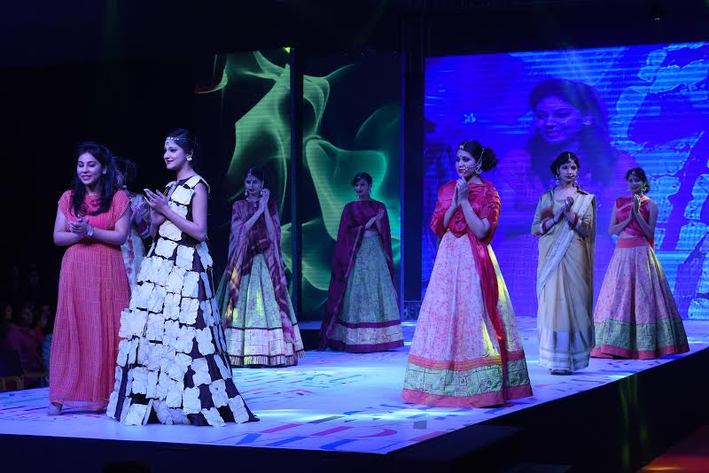 Ocean of feelings expressed by designers at 7th annual fashion show 'Creations-2016'