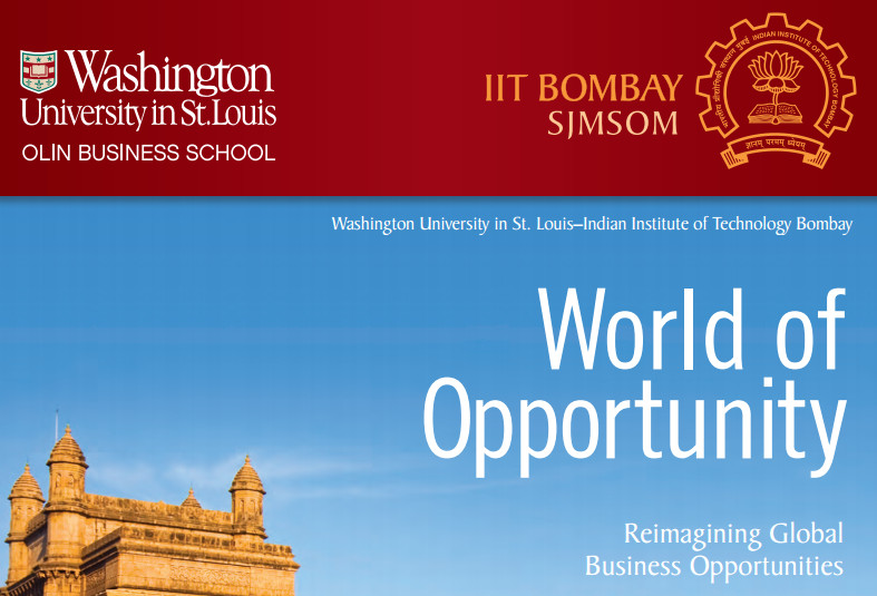Washington University and IIT Bombay to offer Executive MBA