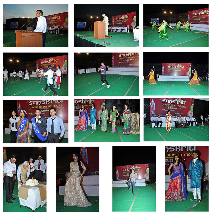 Sanskriti Group celebrates its Foundation Day and organizes Freshers' Welcome programme