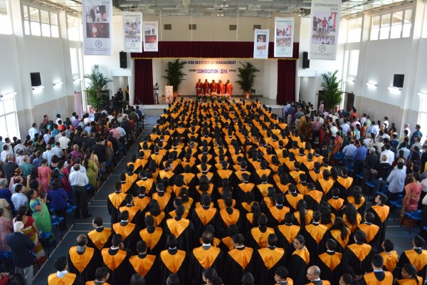 286 students of GIM receive the coveted MBA diploma at the B-school's 20th Convocation Day