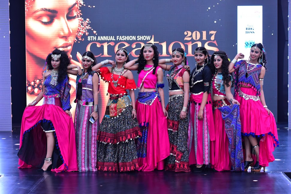 Ocean of feelings expressed by designers at 8th annual fashion show  'Creations-2017'