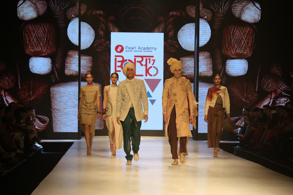 Day 5 of AIFW' 17 showcases GenNext in fashion at 'Pearl Portfolio'