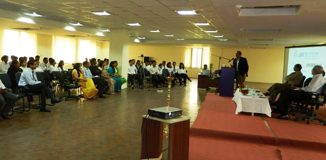 "Orientation programme ""Adhvan' 2015"" held at JK Business School for newly joined PGDM and UG students"