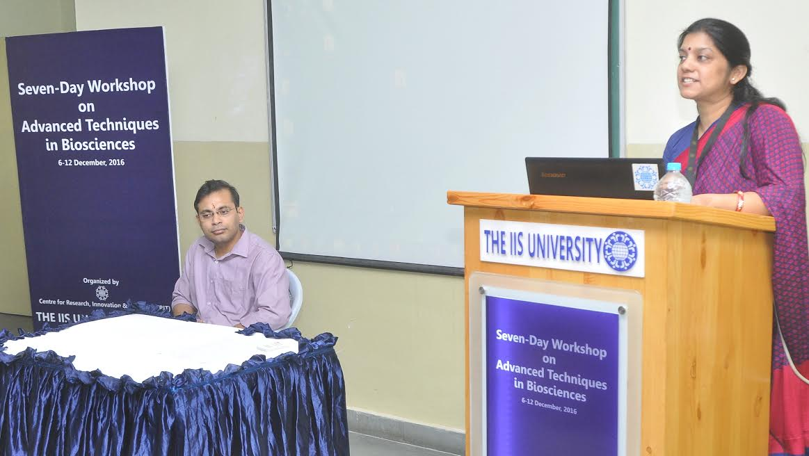 "Workshop on ""Advanced Techniques in Biological Sciences"" commenced"