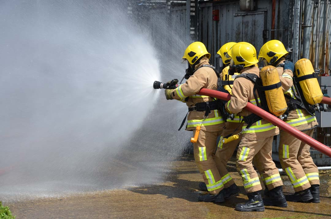 Auxiliary Fire Fighting Course