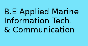 Bachelor of Engineering (BE Applied Marine Information Technology & Communication)