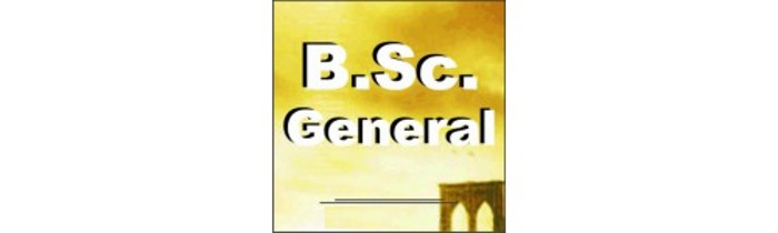 Bachelor of Science (BSc General)