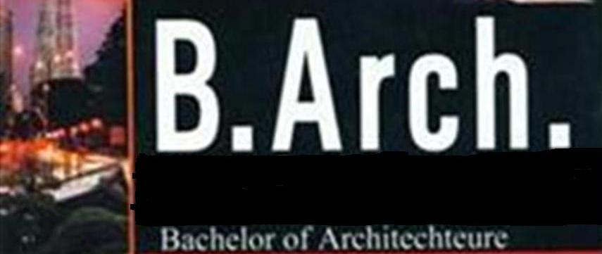 Bachelor of Technology (BTech Architecture)
