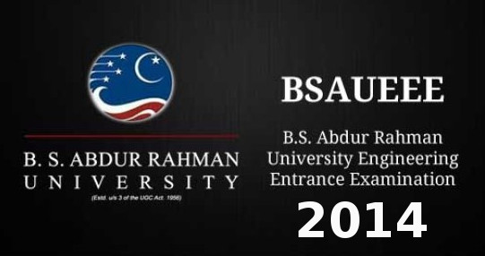 BSAUEEE 2014 Important Dates