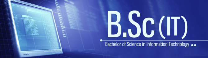 Bachelor of Science (BSc Information Technology)