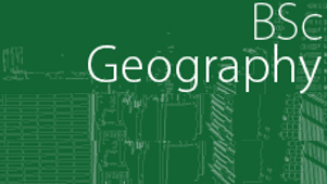 Bachelor of Science (BSc Geography)
