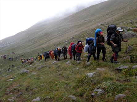 Basic Course in Mountaineering Tourism