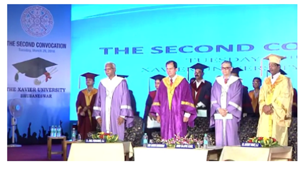 Xavier University Bhubaneswar, Celebrates Convocation at XIMB Campus