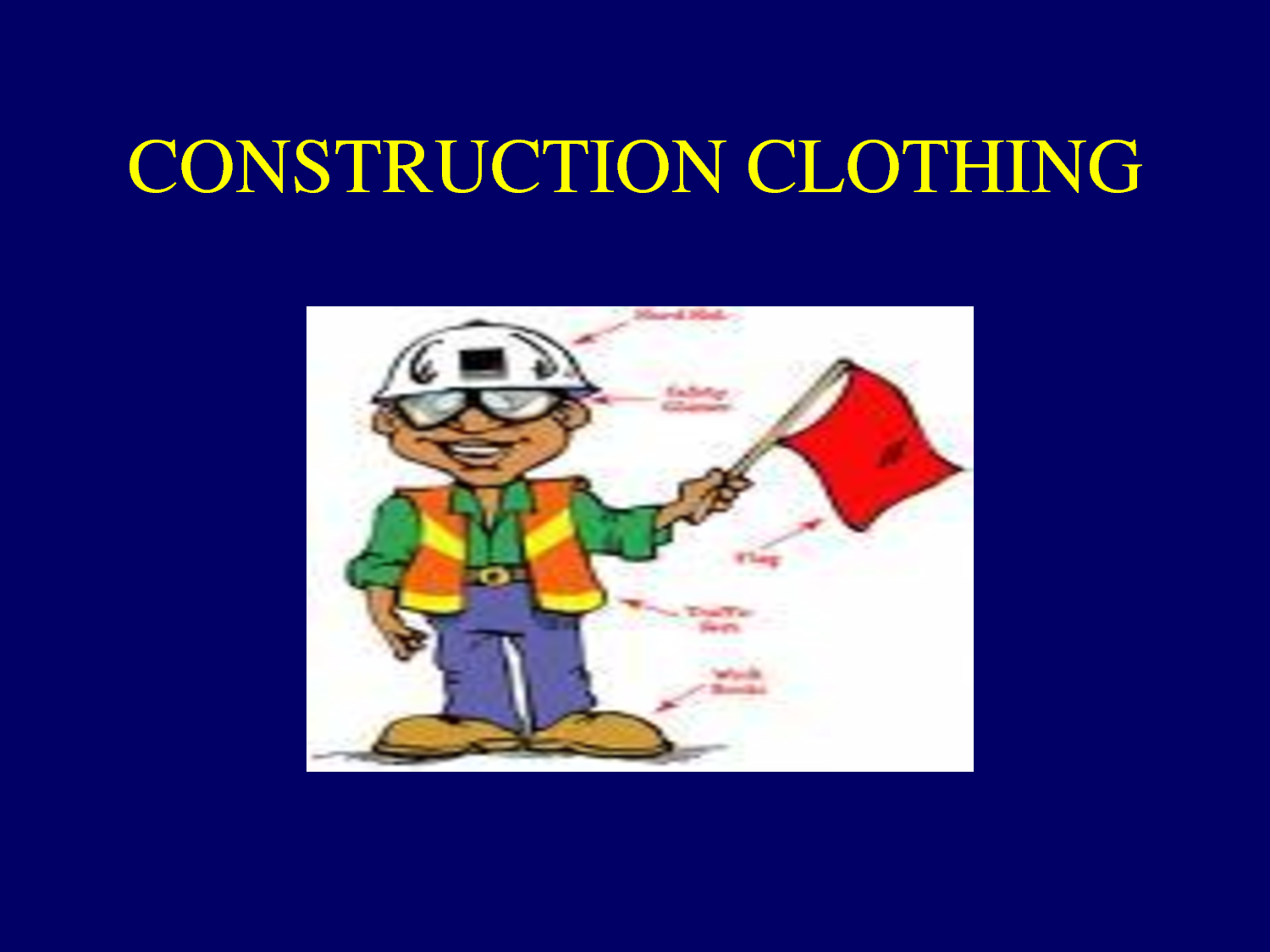 Certificate in Clothing Construction