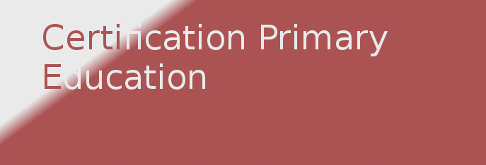 Certification Primary Education (CPE)