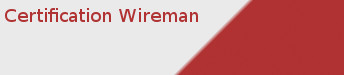 Certification Wireman (CW)