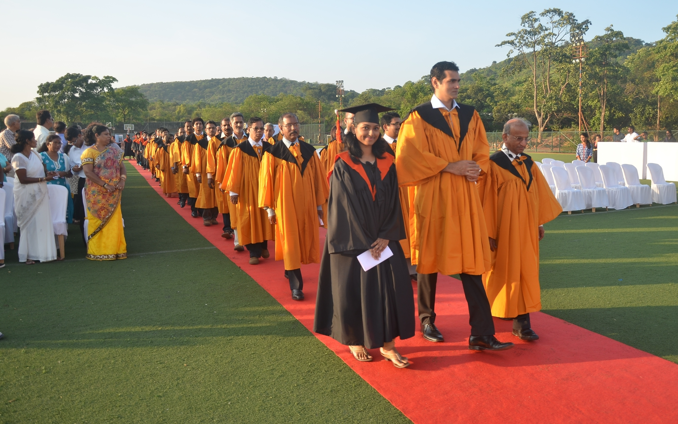 211 students receive the coveted degrees at the Chowgule College Graduation Day 2014