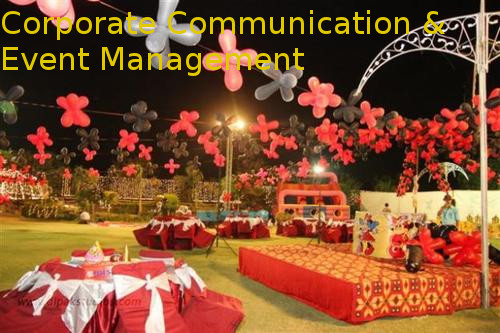 Post Graduate Diploma in Corporate Communication & Event Management