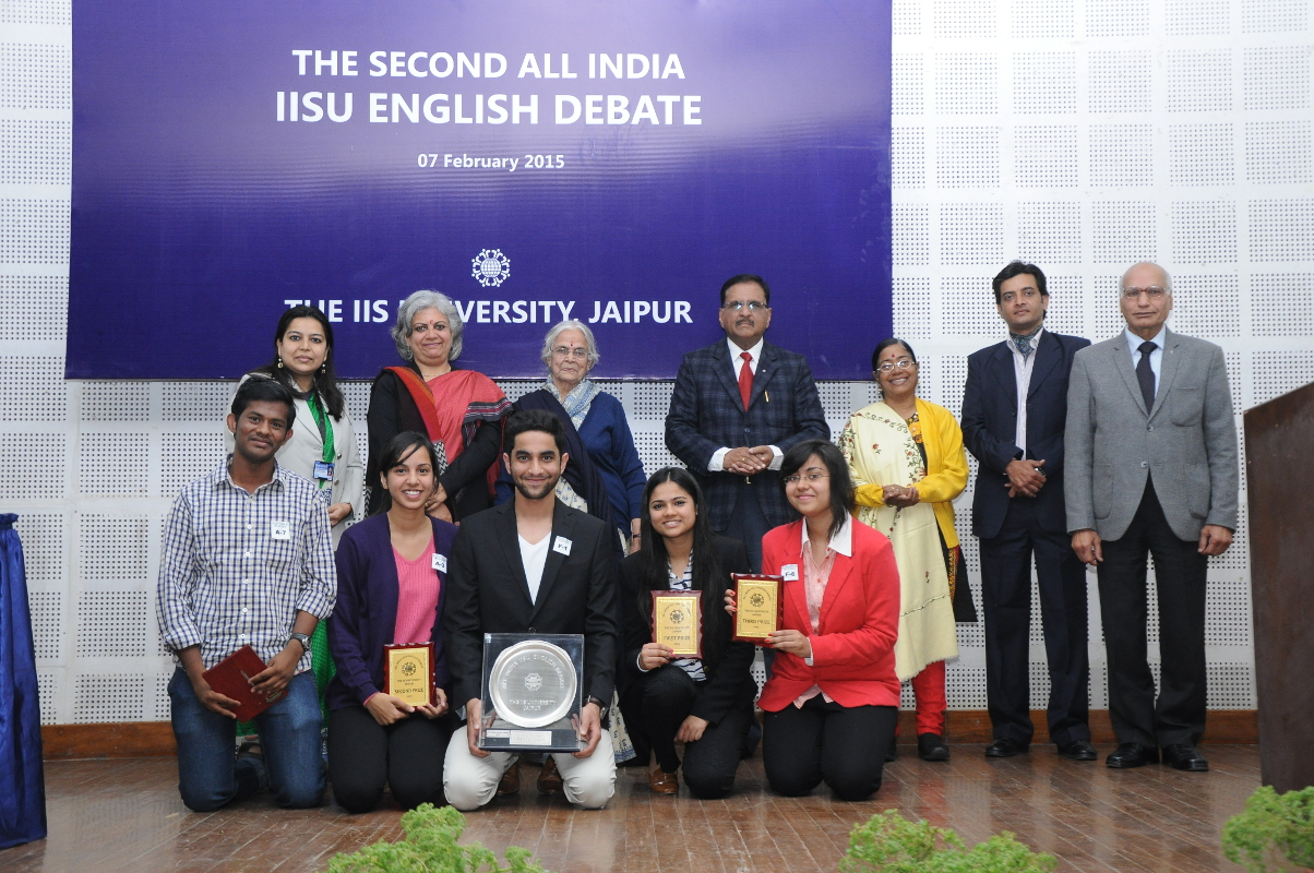 Second All India IISU English Debate concluded