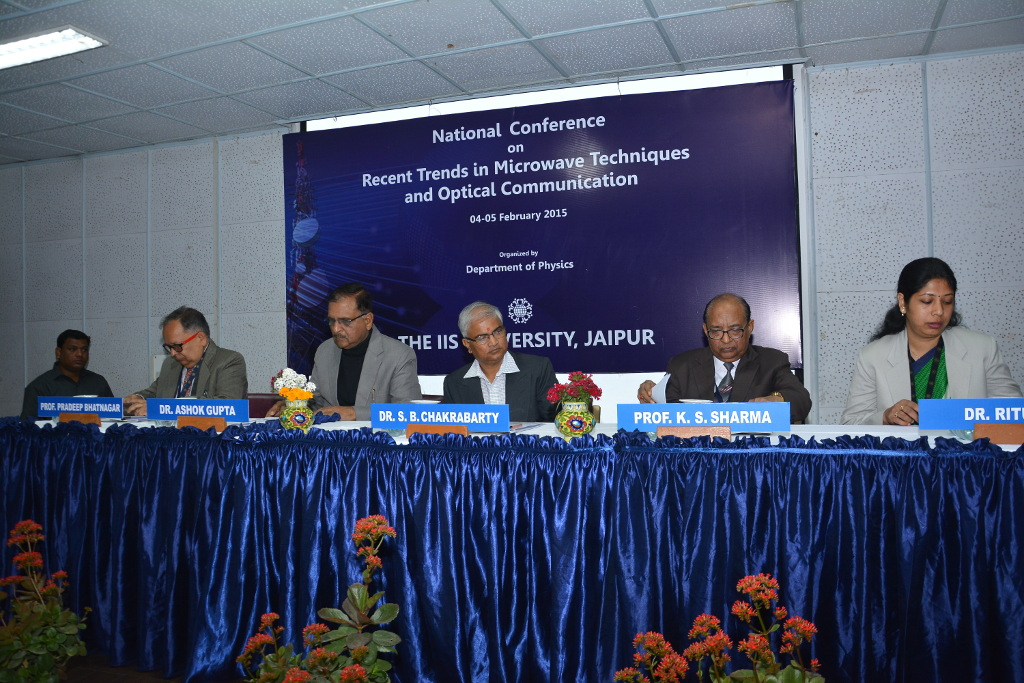 Conference on microwave techniques and optical communication commenced