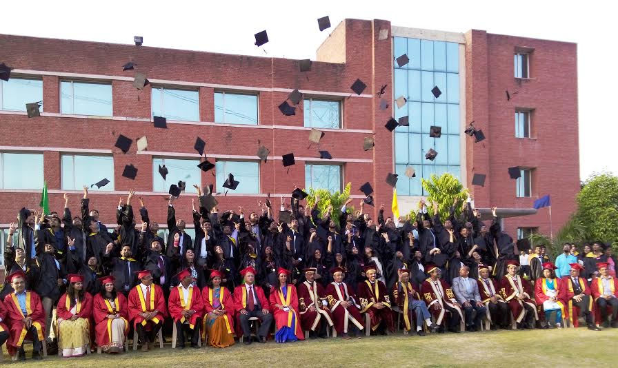 "7th Annual Convocation ""Dikshant"" held at JK Business School"