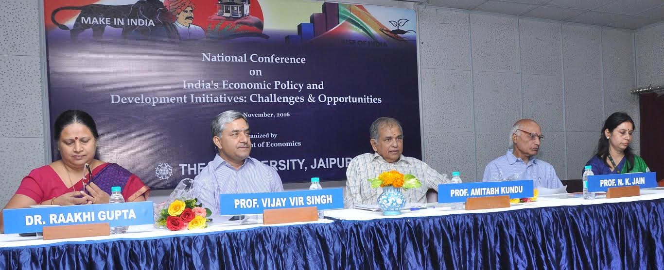 "Conference on ""India's Economic Policy & Development Initiatives: Challenges & Opportunities"""