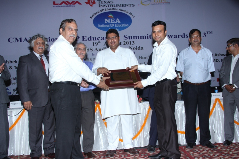 Excellence in Higher Education Institute in Mathura award conferred on Sanskriti Group