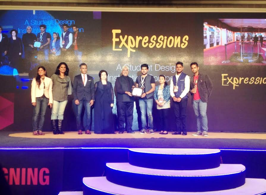 Students of IMS Design & Innovation Academy (IMS DIA) participated in The FoAID 2016 (Festival of Architects and Interior Designers)