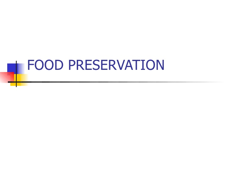Diploma Food Preservation Technology (DFPT)