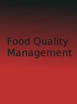 Master of Technology in Food Technology (Food Quality Management)