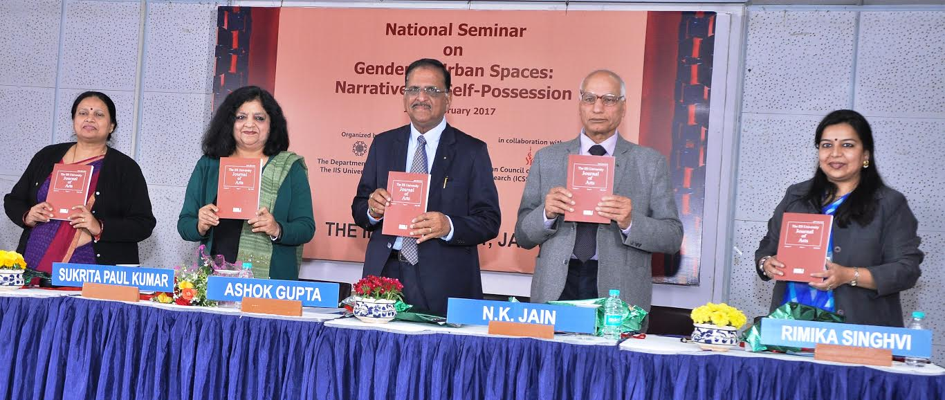 "National Seminar on ""Gendered Urban Spaces: Narratives of Self Possession"" commenced"