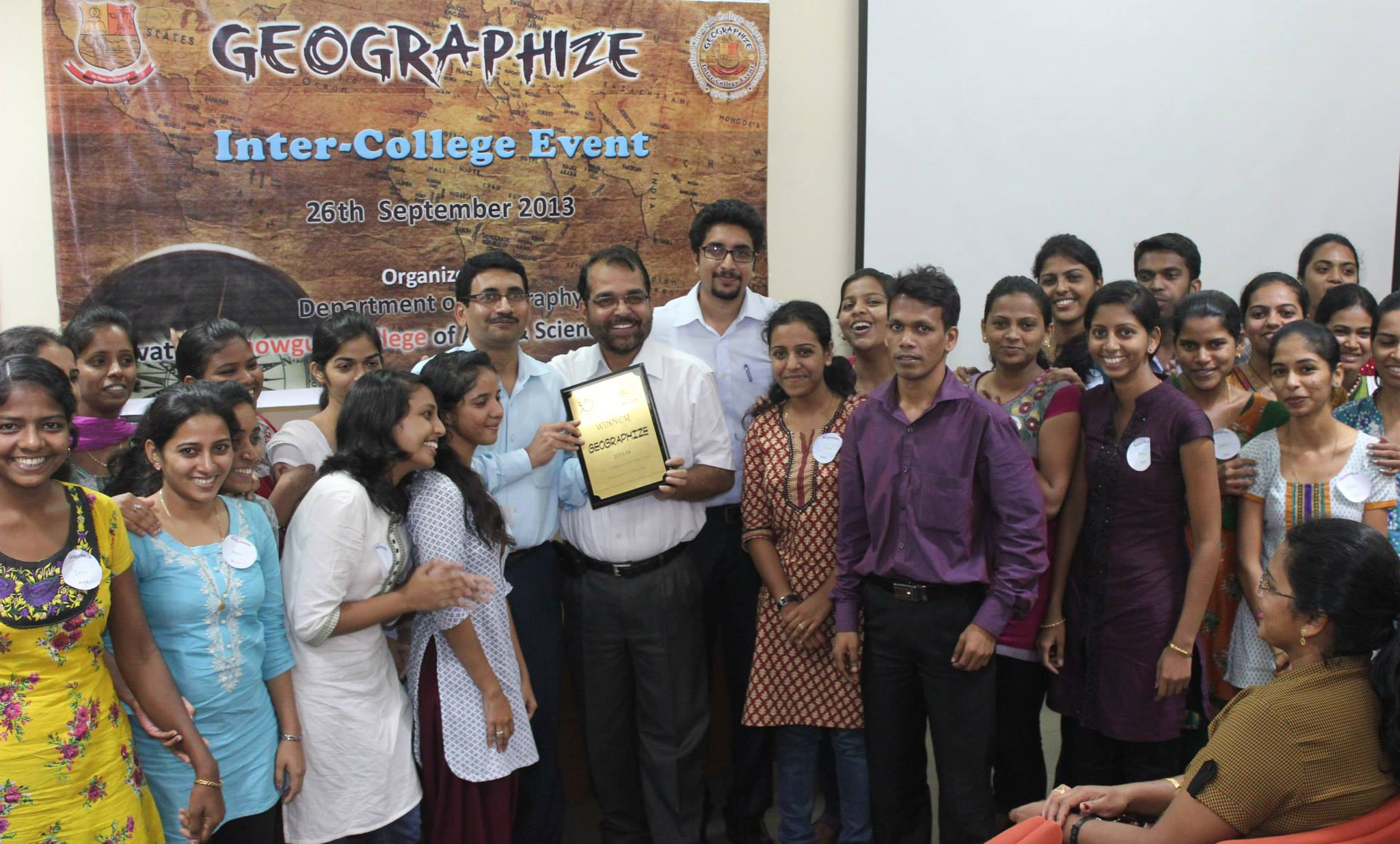 Chowgule College organized Geographize 2013