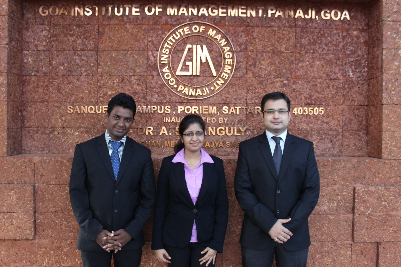 Goa Institute of Management (GIM) and IIM Bangalore quality from the Asia Ocenia region for the annual Global Marketing Competition to be held in Spain later this year