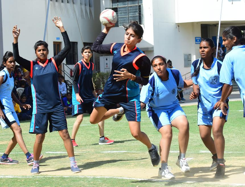 West Zone Inter University Handball Women Tournament kicks off