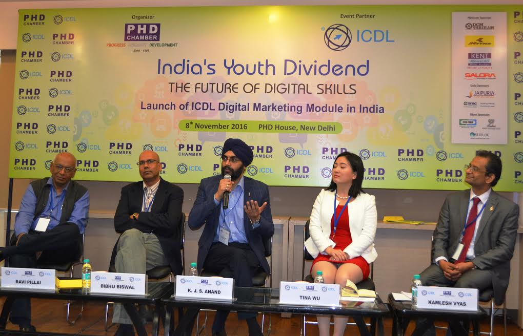 IMS Noida invited to participate in the launch program of ICDL Digital Marketing Module in India
