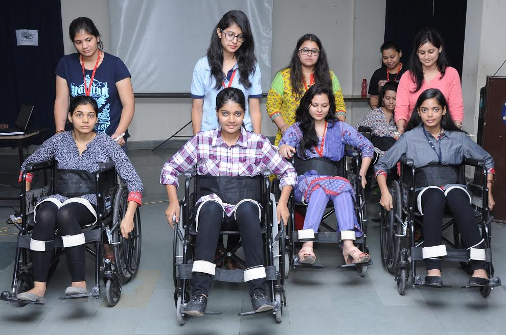 The IIS University organizes Disability Sensitization Programme