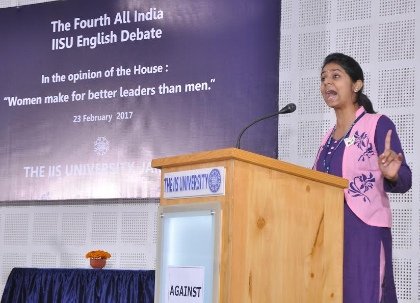 4th All India IISU English Debate organized