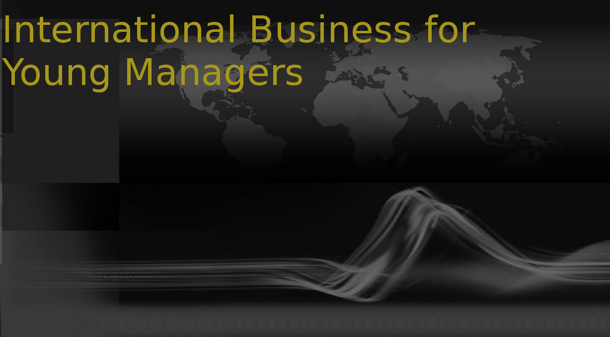 Post Graduate Diploma in International Business for Young Managers (PGDIBYM)