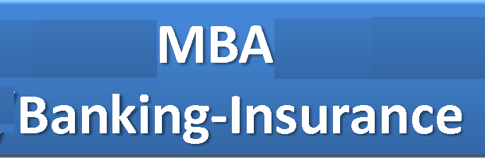 Master of Business Administration (MBA Banking & Insurance)