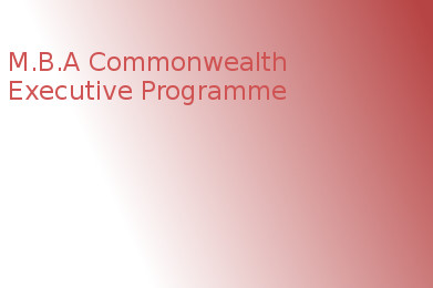 Master of Business Administration (MBA Commonwealth Executive Programme)