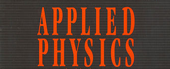 Master of Philosophy (MPhil Applied Physics)