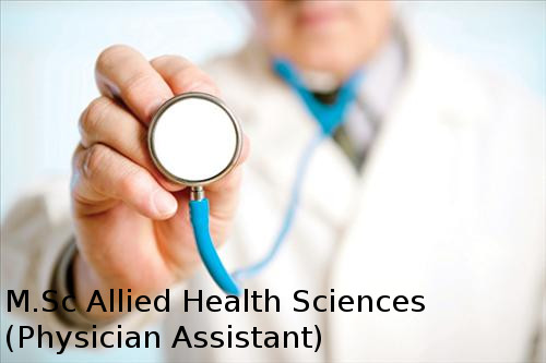 Master of Science in Allied Health Sciences (Physician Assistant)
