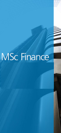 Master of Science (MSc Finance)