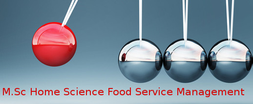 Master of Science (MSc Home Science Food Service Management)