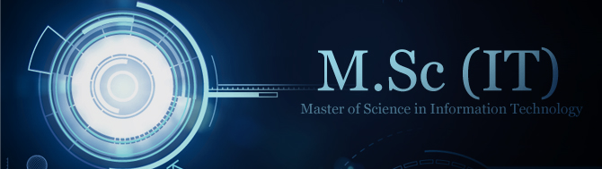 Master of Science (MSc Information Technology)