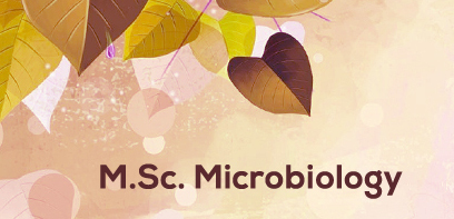 Master of Science (MSc Microbiology)